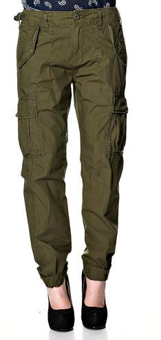 armygrønne bukser kvinder