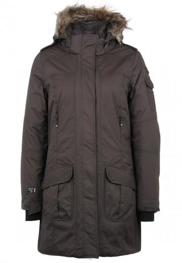 Icepeak JUDIE - Outdoor jakke - dunkel braun