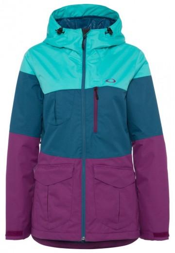 Oakley BRAVO - Skijakker - turquoise