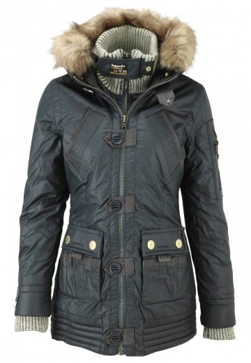 Superdry ALPINE - Outdoor jakke - smoked forest