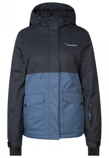 TWINTIP Skijakker - dark blue melange/black melange
